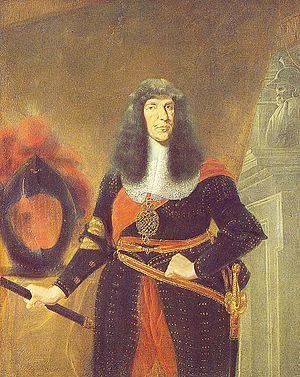 John George II, Elector of Saxony - Portrait by Johann Finck, 1675.