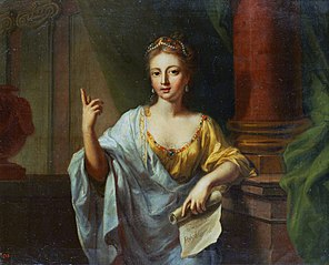 The Muse Polyhymnia (the nine muses, 1781)