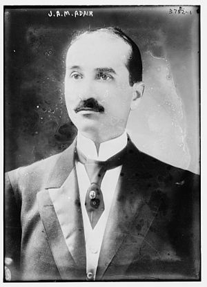 John A. M. Adair - Image: John Alfred Mc Dowell Adair circa 1915