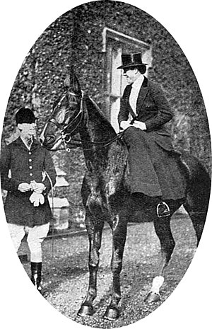 Latimer House - John Compton Cavendish in 1919