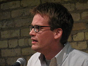John Green (author) -  Green at the Loft Literary Center, Minneapolis, in 2008
