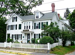 John Greenleaf Whittier Home - Amesbury, Massachusetts.JPG