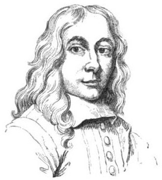 """John Hayls - Portrait drawing of John Hayls (from Walpole's """"Anecdotes of painting"""", volume 2)"""