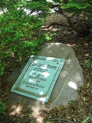 John Milton Gregory - The grave of John Milton Gregory on the UIUC campus