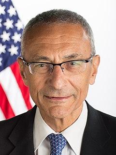 John Podesta former White House Chief of Staff