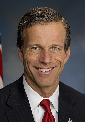 Party leaders of the United States Senate - Majority Whip John Thune (R)