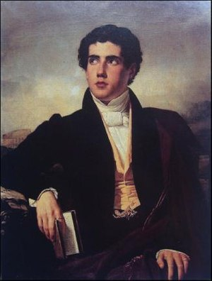 José Manuel Ramírez Rosales - Portrait of Ramírez Rosales,  by Raymond Monvoisin.