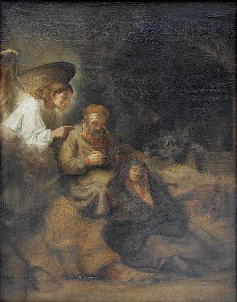 File:Joseph's dream Rembrandt.jpg