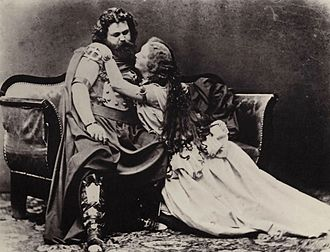 Tristan und Isolde - Ludwig and Malvina Schnorr von Carolsfeld as Tristan and Isolde in the first performance, conducted by Hans von Bülow