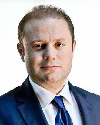 Maltese general election, 2017 - Image: Joseph Muscat, cropped