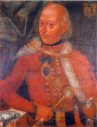 Jovan Tekelija - Jovan Tekelija, first half of the 18th century portrait of unknown author