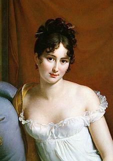 Juliette Récamier 19th-century French salon-holder