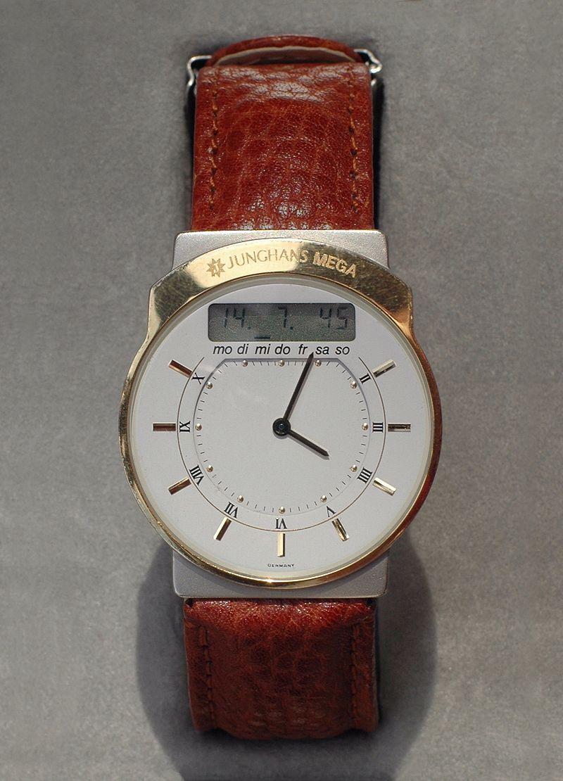 V roce 1990 vznikají první náramkové hodinky řízené radiovým signálem  označené jako Mega – 1 a v roce 1995 i radiohodinky se solárním napájením a  keramickým ... 6042af966c1