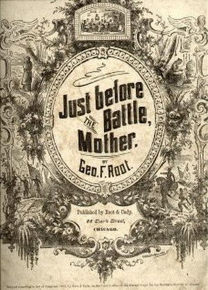 1863 in music - Image: Just Before The Battle Mother