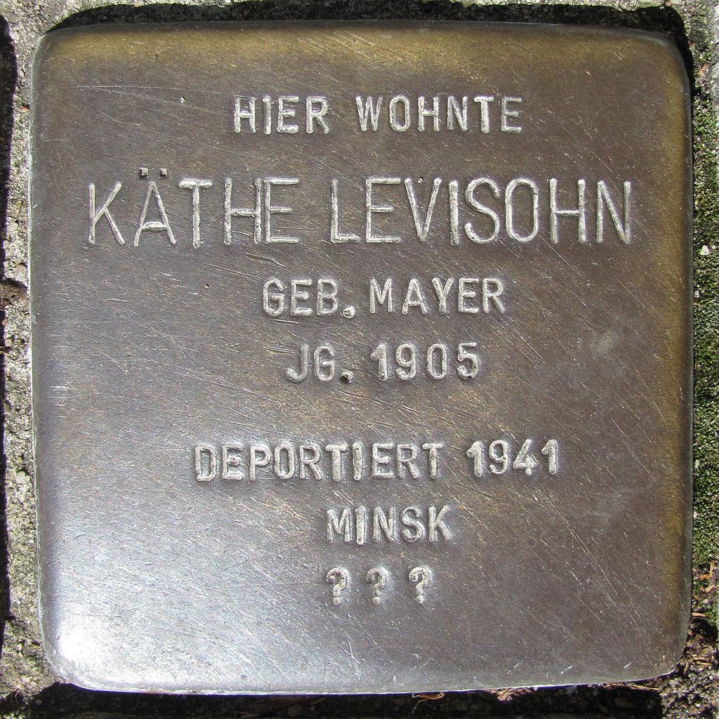 Käthe Levisohn - Wandsbeker Königstraße 38 (Hamburg-Wandsbek).Stolperstein.nnw.jpg