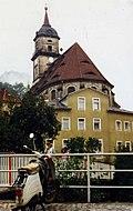Königstein, Simson Schwalbe DDR Moped, Saechsische Schweiz 1988 (3239824995).jpg