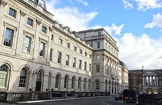 King's College London - The King's Building in the Strand Quadrangle