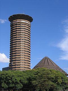 Kenyatta International Convention Centre building in Nairobi