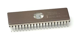 Intel MCS-48 - The 8749 with UV EPROM