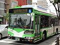 KOBE city bus Hybridbus.JPG