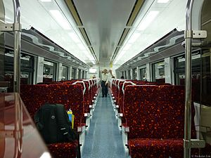 KTM ETS - Interior of KTM Class 91.