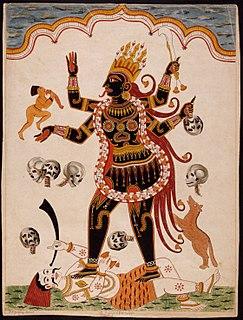 Mahakali Hindu Goddess