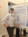 Kalugina Masha with poster session.png