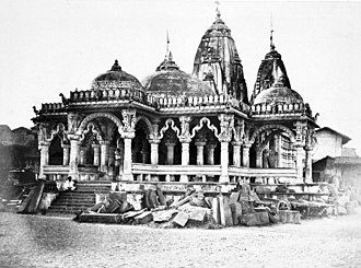 Swaminarayan Temple, Ahmedabad - The temple in 1866