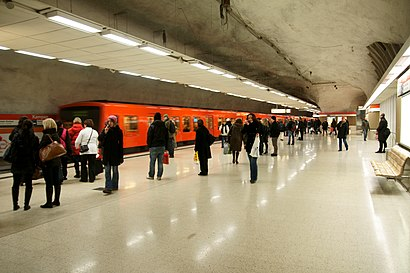 How to get to Kamppi (M) with public transit - About the place