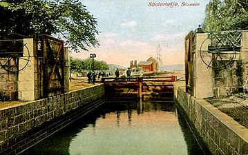 Bildresultat för södertälje kanal sluss