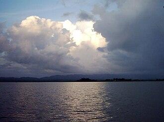 Karnaphuli River - Kaptai Lake on Karnaphuli River