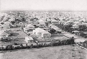 History of Karachi - An old image of Karachi from 1889