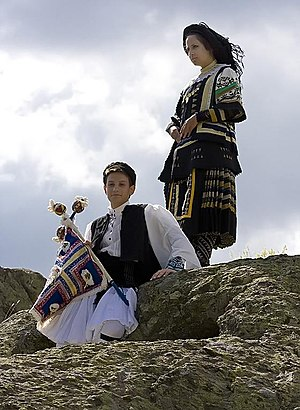 Kotel, Bulgaria -  Sarakatsani children in Kotel