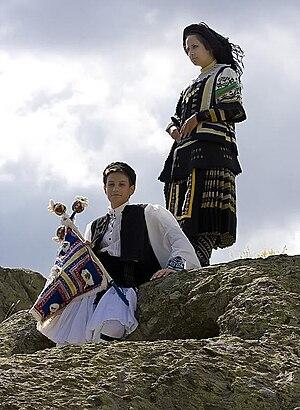 Sarakatsani - Image: Karakacan Greeks Kotel Bulgaria