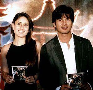 Shahid Kapoor - Shahid and Kareena Kapoor at the audio launch of 36 China Town in 2006