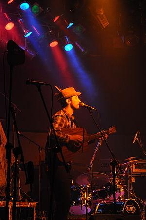 Karl Culley - Karl Culley performing at Klub Studio, Kraków, Poland