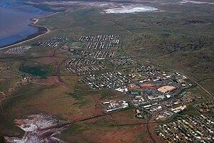 Petroleum industry in Western Australia - Image: Karratha Western Australia Aerial 2