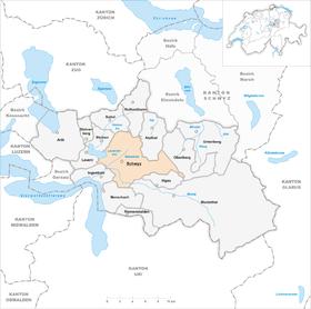 Karte Gemeinde Schwyz 2007