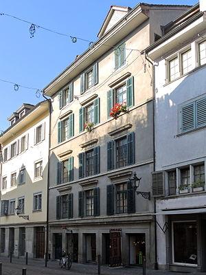 Katharina von Zimmern - Mohrenkopf house, Neumarkt 13