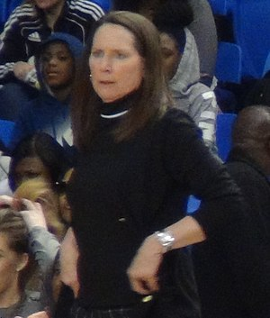 Kathy Olivier - Olivier in 2017 during a game at San Jose State.