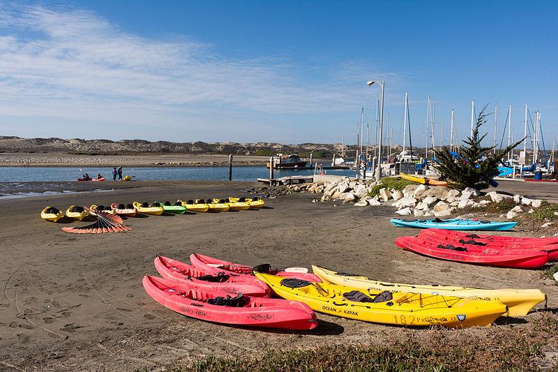 Kayaks at Moss Landing, California.jpg