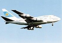 Kazakhstan Airlines Boeing 747SP Maiwald.jpg