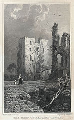 Keep of Ragland Castle, Monmouthshire