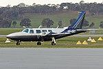 Kenmore Aviation Services (VH-ORT) Piper PA-60-600 Aerostar at Wagga Wagga Airport.jpg