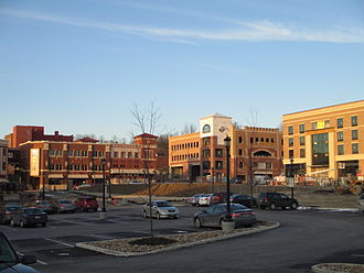 Kent, Ohio - Downtown developments completed or under construction in March 2013