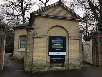 Kenwood House - The entrance lodge from Hampstead Lane