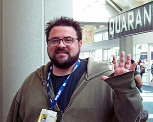 Director/Actor Kevin Smith at the 2008 Comic-C...