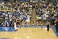 Kevin Love jump shot in UCLA v WSU game 2008-01-12.jpg