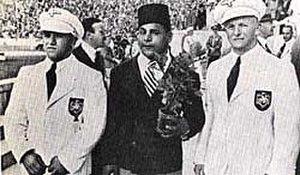 Khadr El-Touni - Khadr El-Touni at the 1936 Olympics in Berlin