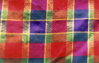 Khmer clothing - Woven silk from Cambodia.